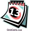 calendar Vector Clipart image