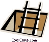 Vector Clipart graphic  of a ladder