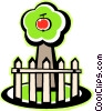 apple tree Vector Clipart illustration