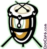 drum Vector Clipart graphic