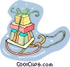 Christmas presents Vector Clipart picture