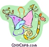 party favors Vector Clip Art picture
