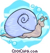 snail Vector Clipart graphic