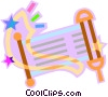 Vector Clip Art graphic  of a scroll