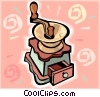 coffee grinder Vector Clip Art graphic