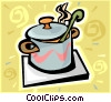 pot, crock pot Vector Clip Art picture