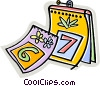 Vector Clipart picture  of a calendar