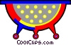 Vector Clipart graphic  of a colander