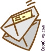 Vector Clip Art picture  of a envelope