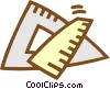 Vector Clip Art picture  of a ruler