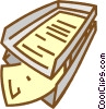 in box, out box Vector Clipart picture