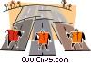 Vector Clipart graphic  of a highway