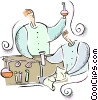 scientists Vector Clip Art picture