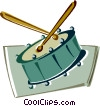 drum Vector Clipart picture
