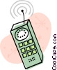 Cell phone Vector Clip Art graphic