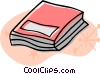 Vector Clip Art graphic  of a School book