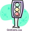 traffic light Vector Clipart illustration