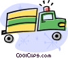 Fire truck Vector Clipart graphic
