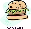 Hamburger Vector Clipart illustration