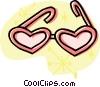 sun glasses Vector Clipart graphic