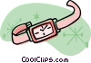 Vector Clipart image  of a watch