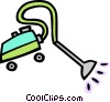 Vector Clip Art image  of a vacuum cleaner