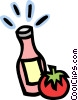 sauce Vector Clip Art graphic