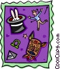 Vector Clipart image  of a Hocus Pocus