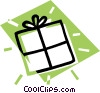 present, gift Vector Clipart illustration