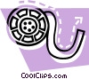 Vector Clipart graphic  of a film strip