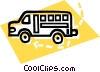 Vector Clipart picture  of a school bus