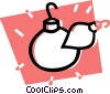 Vector Clipart picture  of a Christmas ornament