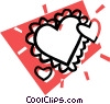 valentine's heart Vector Clip Art picture