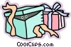 Vector Clipart image  of a presents