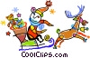 Santa Vector Clip Art image