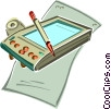 Vector Clipart image  of a PDA