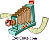 Old camera Vector Clipart image