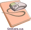 Vector Clip Art image  of a Computer mouse