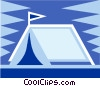 tent Vector Clipart illustration