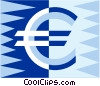euro symbol Vector Clip Art graphic