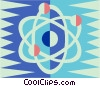 Vector Clipart graphic  of a Nuclear energy