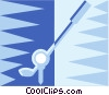 golf club Vector Clip Art graphic