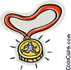 medal Vector Clipart graphic