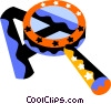 Vector Clip Art picture  of a Magnifying Glasses