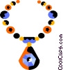Vector Clip Art image  of a Jewelry