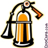 Fire extinguisher Vector Clip Art graphic