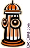 Vector Clipart image  of a Fire hydrant