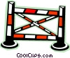 Equestrian jump Vector Clipart picture