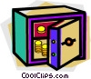 Vaults and Safes Vector Clipart picture
