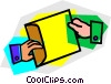 File Folders Vector Clipart picture